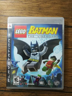 Lego Batman Playstation 3 Ps3 Excelente Estado !!