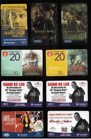 Cartão De Telefone Telecartofilia: Lote 34 Cartões Usados