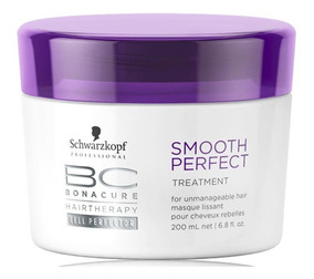 Schwarzkopf Bc Smooth Perfect Máscara De Tratamento 200g