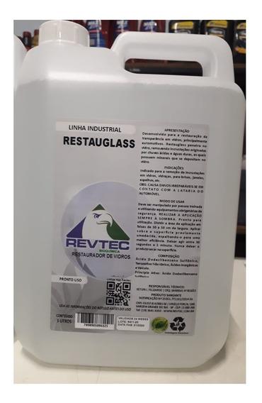 Restaurador De Vidros - Removedor De Chuva Ácida - 5 Litros
