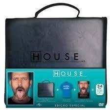 House 1ª A 6ª Temporadas - Box Com 34 Dvds - Hugh Laurie