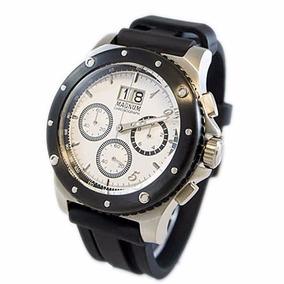 Relogio Masculino Magnum Ma33746q Cronografo Orignal