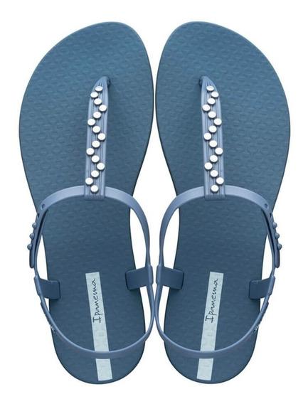 Chinelo Sandália Rasteira Ipanema Pop Class Azul Calçados