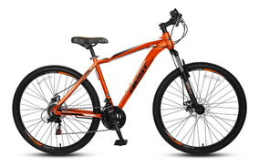 Bicicleta Best De Hombre Lance Aro 27.5 Naranja/negro