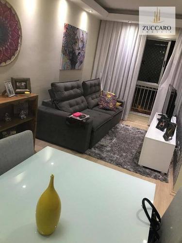 Apartamento À Venda, 56 M² Por R$ 255.000,00 - Jardim São Judas Tadeu - Guarulhos/sp - Ap13580