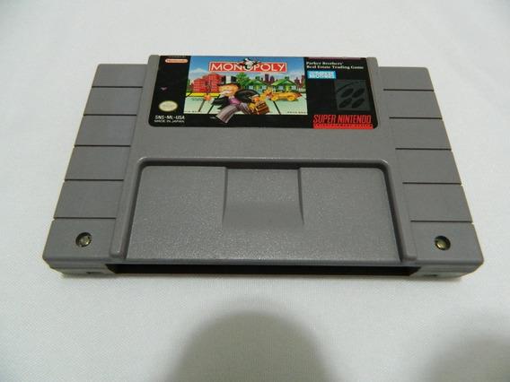 Monopoly - Original Para Super Nintendo Snes