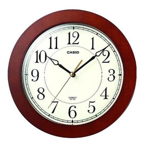 Reloj De Pared Casio Iq 126 Analogo
