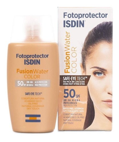 Isdin Protector Solar Foto Fusion Water Color Spf 50+ 50ml