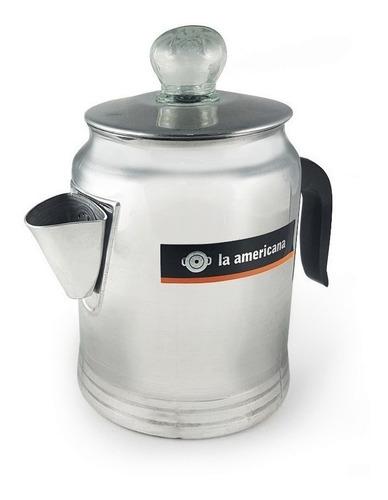 Cafetera La Americana Aluminio Con Filtro