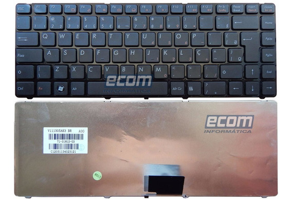 Teclado Notebook Itautec W7440 W7445