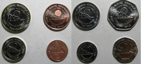 Gibraltar Set 8 Monedas Nueva Casa De Londres 2018 Unc