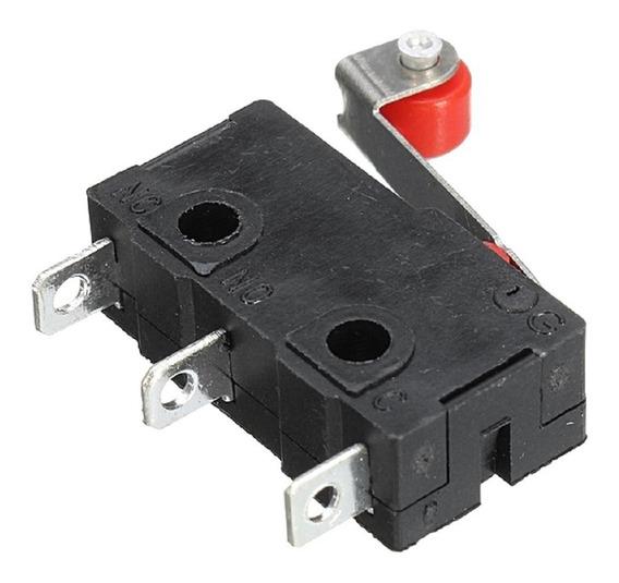 4x Micro Chave Kw12 Fim De Curso End Stop Switch Impressora