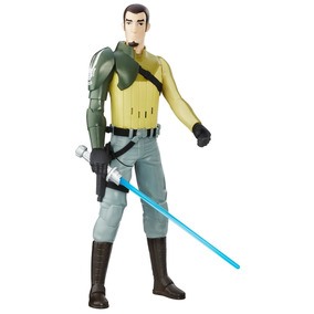 Boneco Star Wars S1 Hero Serie Eletronico - Kanan Jarrus Has