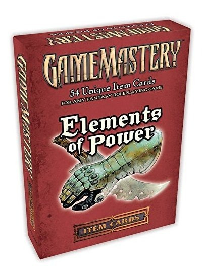 Elements Of Power Item Cards Deck Gamemastery