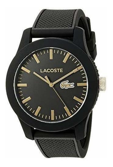 Reloj Lacoste Negro 2010818 12.12 Cuarzo Japonés Hombre