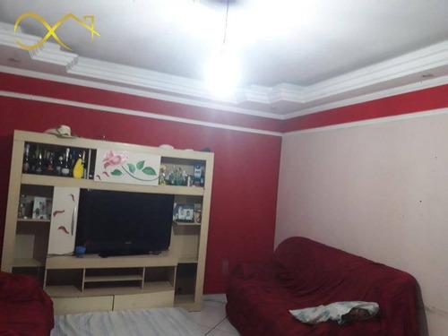Casa Com 3 Dormitórios À Venda, 200 M² Por R$ 420.000,00 - São José - Paulínia/sp - Ca2042