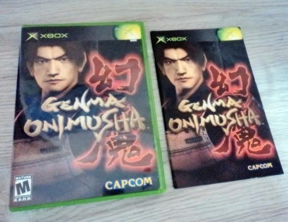 Genma Onimusha 2002 Xbox Clássico Usa