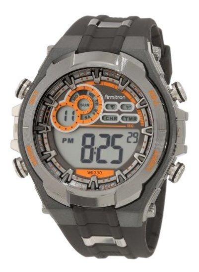 Reloj Digital Armitron Sport 408188gmg Para Hombre