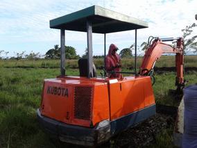 Vendo Mini Excabadora Kubota En Exelente Condicio Provada