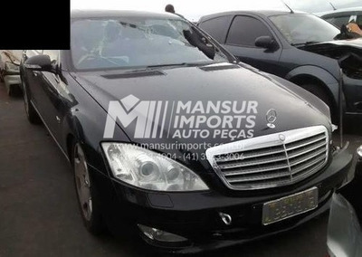 Sucata Mercedes S600 V12 2007 S500 S63 Peças/motor/cambio