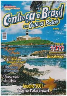 Anuário 2001 De Cartões Postais Brascard