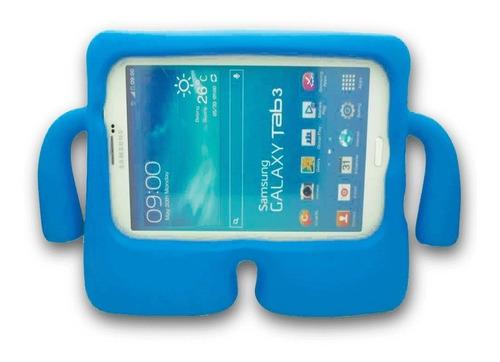 Funda Silicón Samsung Tab E T113 Bracitos Niños Uso Rudo