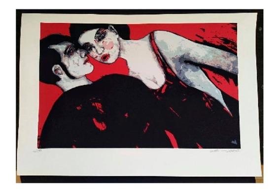 Pareja Rojo Y Negro Autor:Carlos Rosero Téc