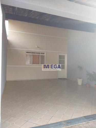 Casa Com 2 Dormitórios À Venda, 140 M² Por R$ 270.000 - Parque Das Indústrias (nova Veneza) - Sumaré/sp - Ca2260