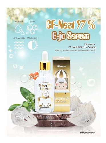 Imagen 1 de 8 de Elizavecca Serum Facial Cf-nest B Jo Ácido Hialurónico 97% Hidratante Antiarrugas Original Importado De Corea