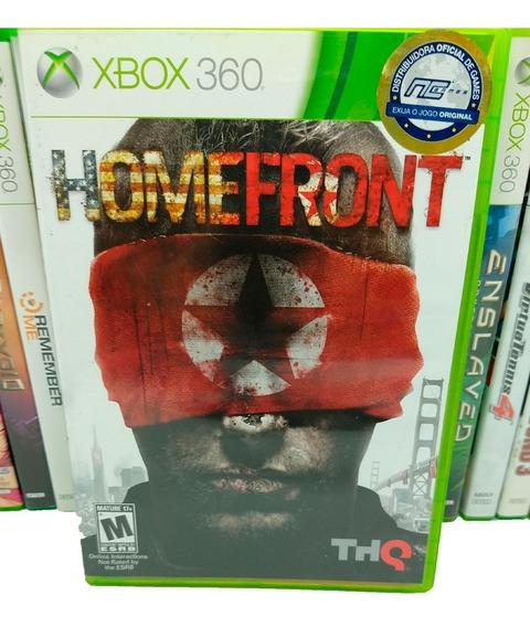 Homefront Jogos Xbox 360 Midia Fisica Original X360 Game