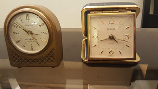 Lote Antiguo Reloj Despertador Viaje Europa Alemán 1 Musical