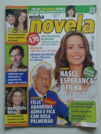 Minha Novela Nº 91 - Maio 2001 - Estrela Guia, Spanic, Anahí
