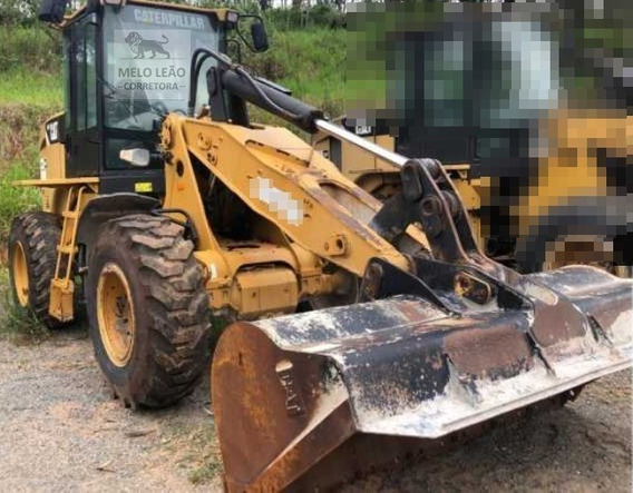 Pá Carregadeira Caterpillar 924h 4x4 - Ano 2008 - C/ 8.246 H