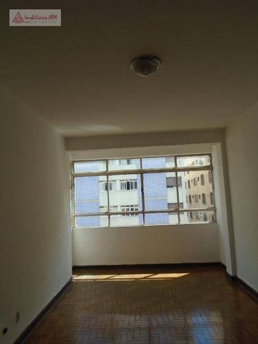 Apartamento Com 1 Dormitório Para Alugar, 63 M² Por R$ 1.800,00/mês - Santa Cecília - São Paulo/sp - Ap1601