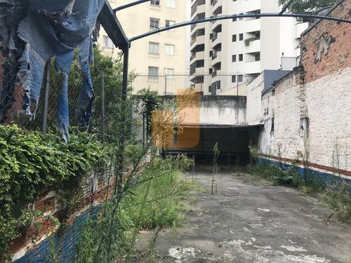 Terreno Para Venda / Locação No Bairro Higienópolis Em São Paulo - Cod: Ja12505 - Ja12505