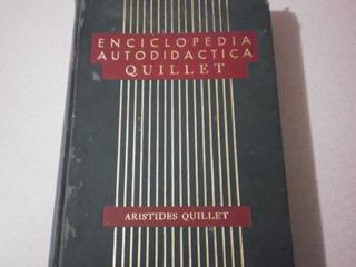 Enciclopedia Autodidacta Quillet Pasta Dura
