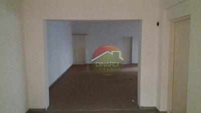 Salão Comercial Para Locação, Centro, Ribeirão Preto. - Sl0191
