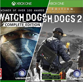 Watch Dogs 1 Y 2 !!! Xbox One