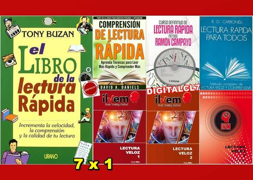 El Libro De La Lectura Rápida - Tony Buzan + 6 L