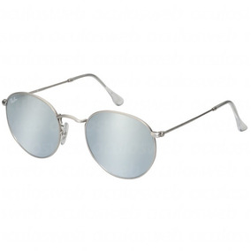 afc32492d Oculos Masculino Redondo Espelhado Prata - Óculos no Mercado Livre ...