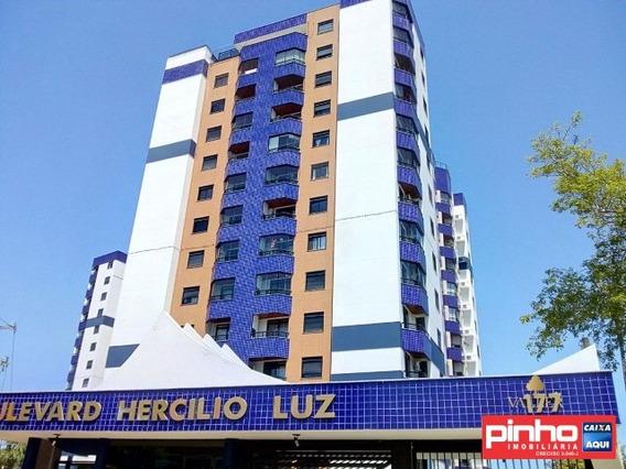 Apartamento 03 Dormitórios, Residencial Boulevard Hercílio Luz, Vende, Bairro Estreito, Florianópolis, Sc - Ap01036