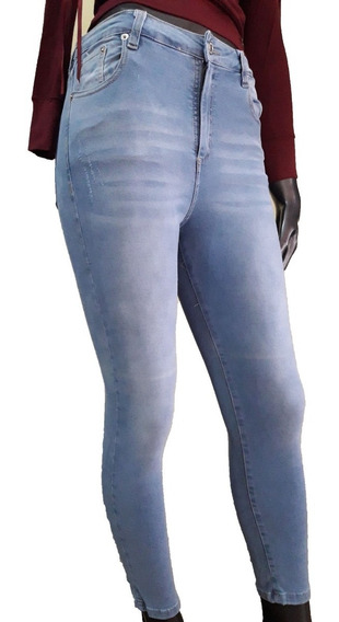 Jeans St Marie Tiro Alto Promo Minimo Detalle (ver Fotos)