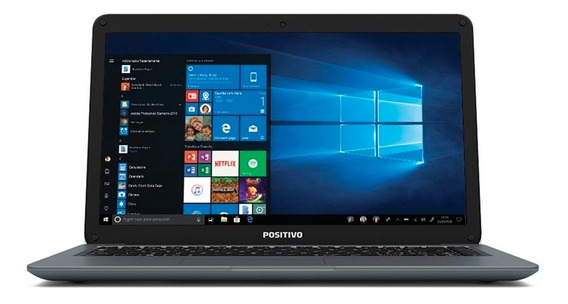 Notebook Positivo Motion I341ta Intel I3 4gb 1tb Windows 10