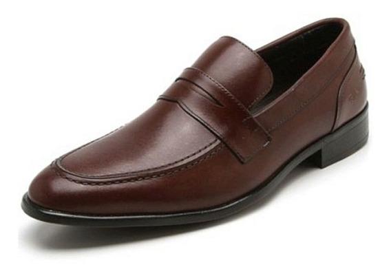 Sapato Social Couro Reserva Silo Marrom