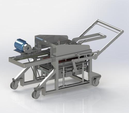 Imagem 1 de 10 de Projeto Maquina De Fazer Blocos De Cimento Poedeira