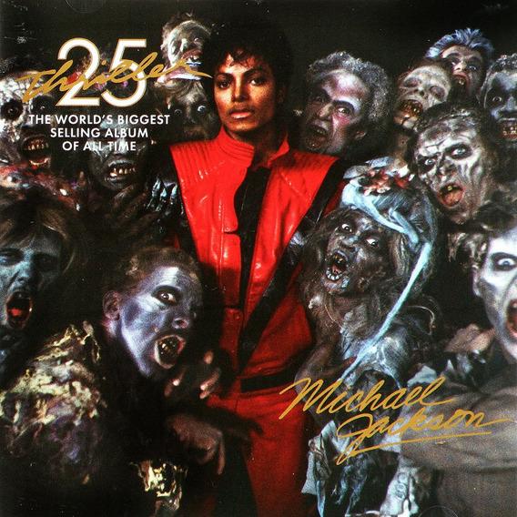Cd + Dvd Michael Jackson Thriller 25 Aniversary Lacrado Novo