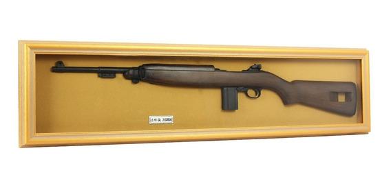 Quadro Decorativo Carbine U.s. M.1 Calibre .30 - Com Moldura