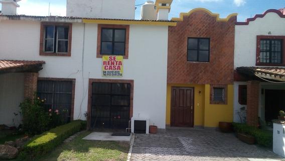 Rento Bonita Casa En La Recta A Cholula Junto Puente Udlap