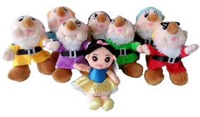 Branca De Neve E 7 Anões - Pelúcia Princesa