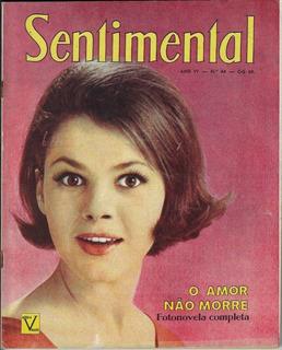 Revista Sentimental Nº 44 Editora Vecchi Fotonovela